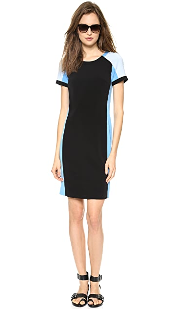 DKNY Colorblock Sheath Dress