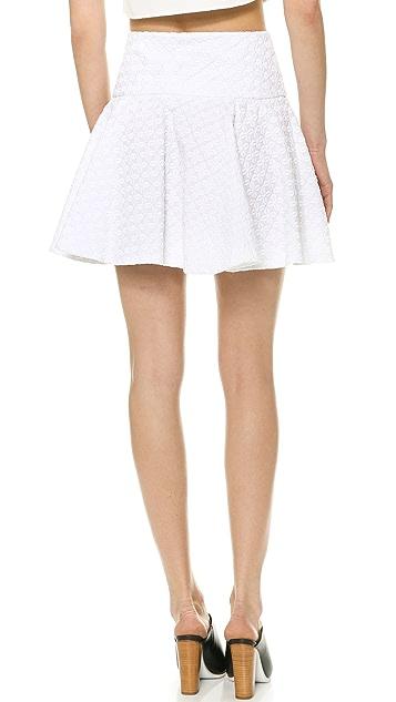 DKNY Circle Miniskirt