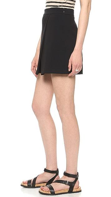 DKNY Faux Wrap Shorts