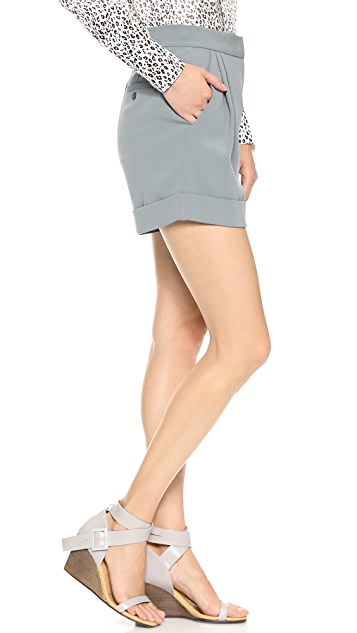 DKNY Pleated Shorts