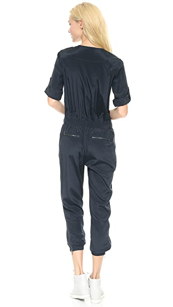 DKNY V Neck Jumpsuit