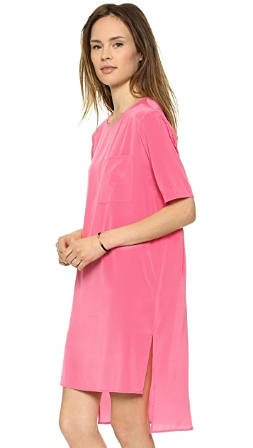 DKNY Short Sleeve Tunic Dress
