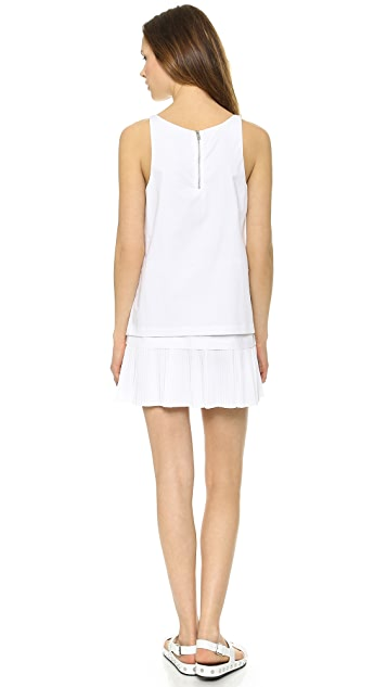 DKNY Drop Waist Tunic Dress