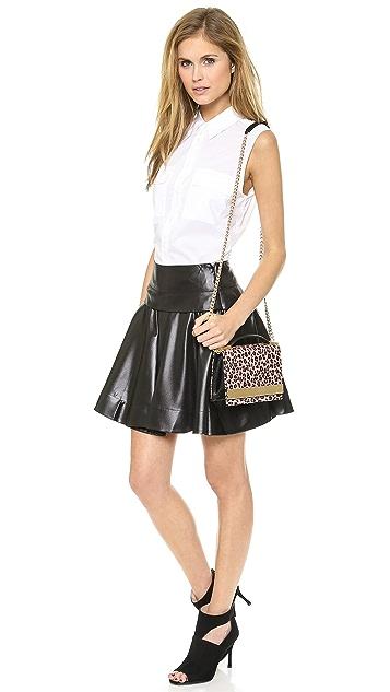 DKNY Mini Circle Skirt