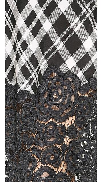 DKNY Maxi V Neck Cami Dress
