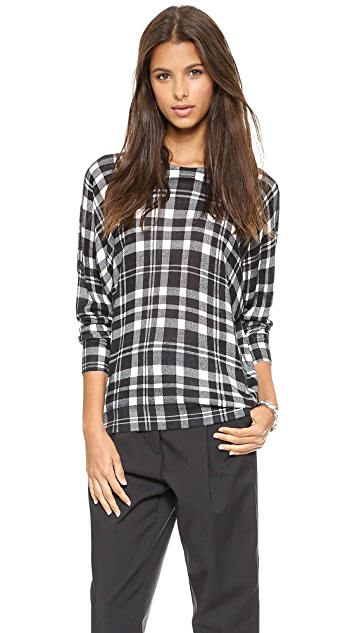 DKNY Long Dolman Sleeve Pullover