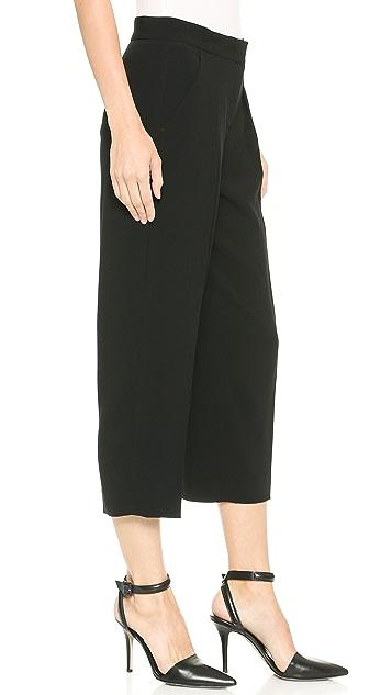 DKNY Cropped Wide Leg Pants