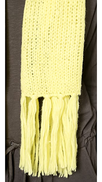 DKNY Scarf with Fringe