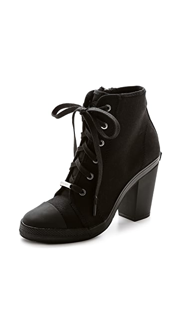 DKNY Erin Heeled Sneakers Booties