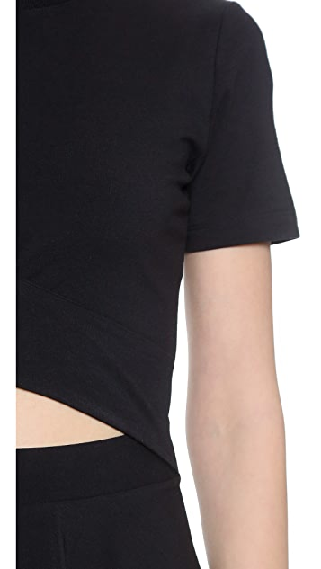 DKNY Dress With Cut Out Detail