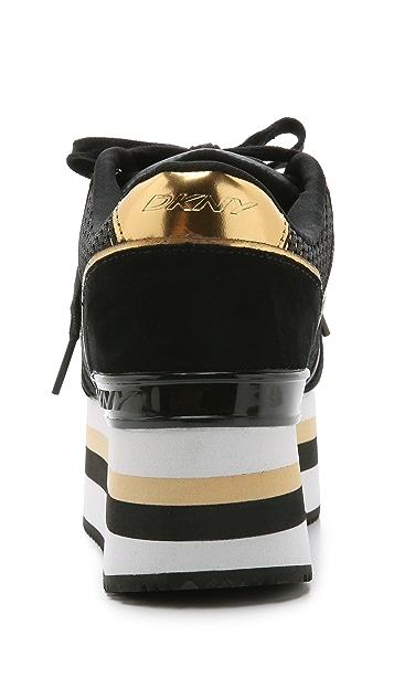 DKNY Jill Runway Platform Sneakers