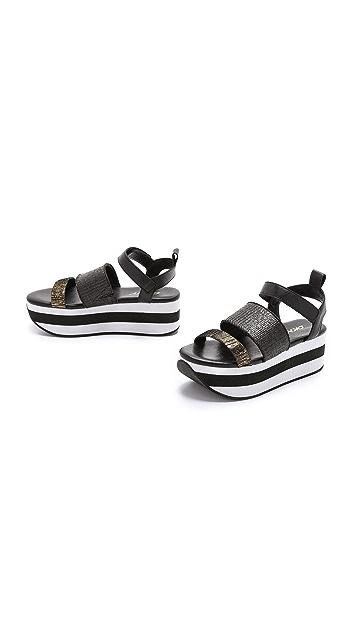 DKNY Valene Platform Sandals
