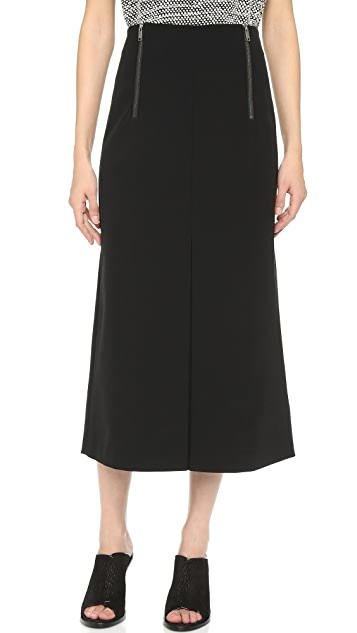 special for shoe classic shoes many fashionable Midi Skirt with Inverted Pleat