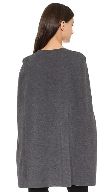 DKNY Wool Cape