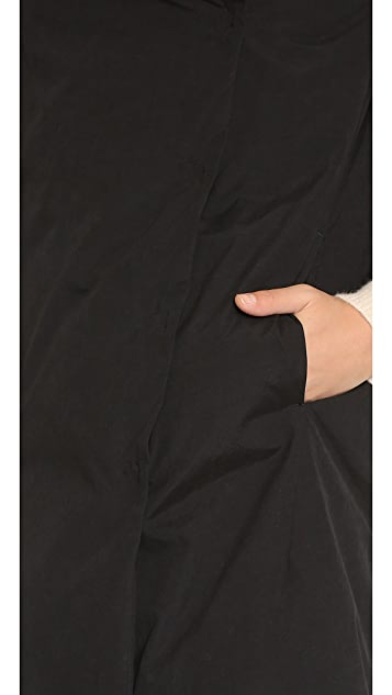 DKNY Pure DKNY Drape Puffer Coat