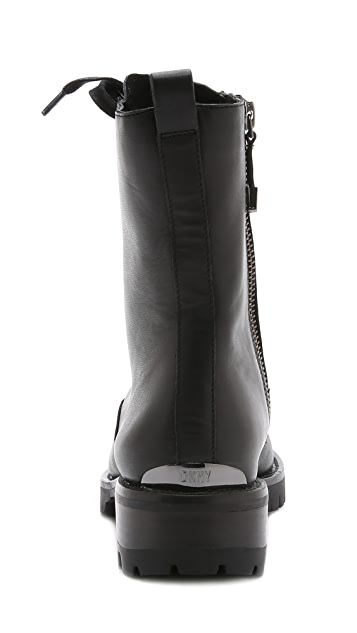 DKNY Melissa Lace Up Boots