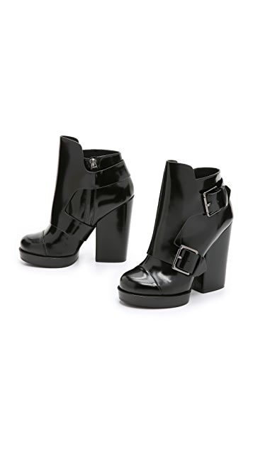 DKNY Rayna Monk Strap Ankle Boots
