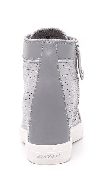 DKNY Cresta Wedge Sneakers