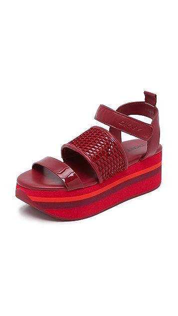 3365368e5f DKNY Valene Platform Sandals | SHOPBOP