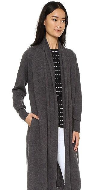 DKNY Open Front Cardigan Coat