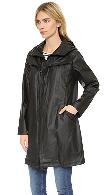 Pure DKNY Hooded Coat