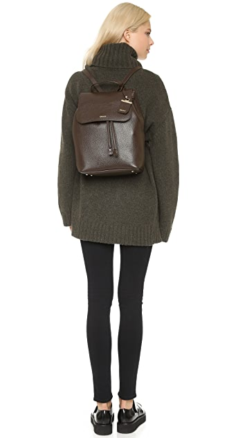 DKNY Ego Leather Backpack