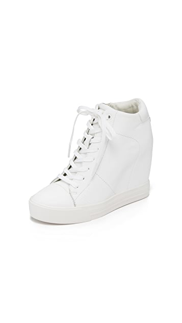 7265de04fa3 DKNY Ginnie Wedge Sneakers