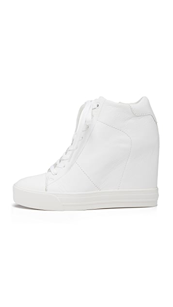 3b2b5c1bf48 ... DKNY Ginnie Wedge Sneakers ...