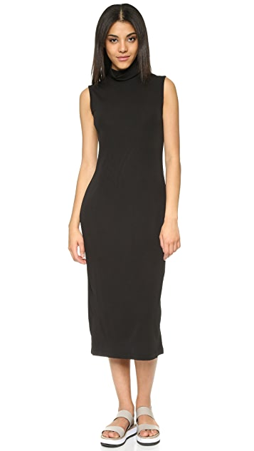 DKNY Sleeveless Dress with Back Buttons