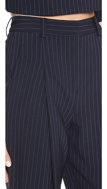 DKNY Cuffed Pants