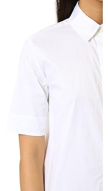 DKNY Pure DKNY Maxi Shirtdress
