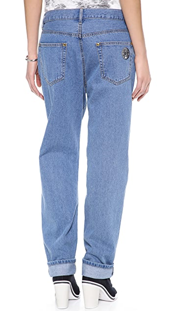 DKNY x Opening Ceremony Jeans with Faux Sleeves