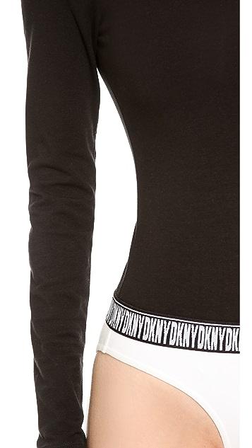 DKNY x Opening Ceremony Long Sleeve Crew Neck Bodysuit