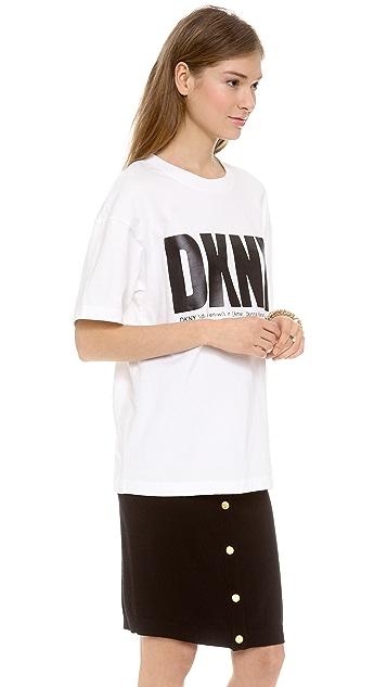 DKNY x Opening Ceremony Short Sleeve Logo Tee