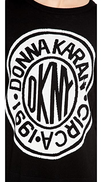 DKNY x Opening Ceremony Long Sleeve Logo Pullover