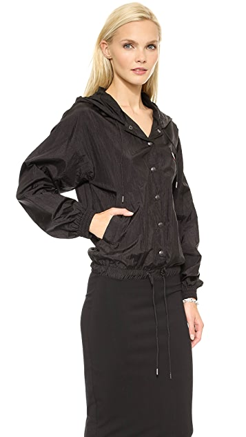 DKNY x Opening Ceremony Hooded Long Sleeve Dress