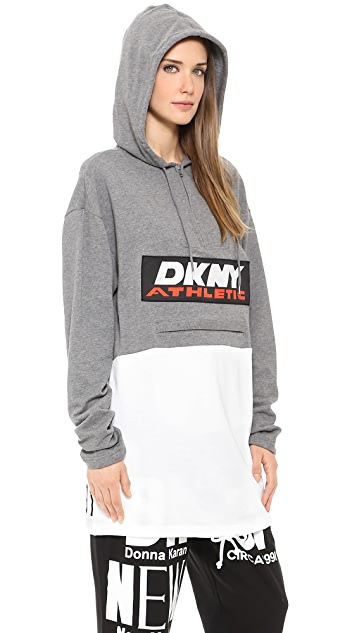 DKNY x Opening Ceremony Colorblocked Long Sleeve Hoodie