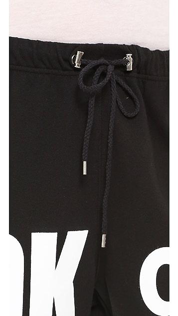 DKNY x Opening Ceremony Drawstring Sweatpants