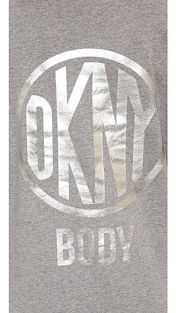 DKNY x Opening Ceremony Long Sleeve Hooded Maxi Dress