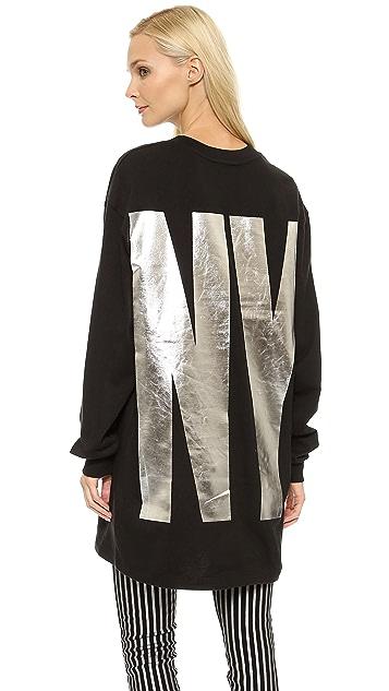 DKNY x Opening Ceremony Long Sleeve Crew Neck Sweatshirt