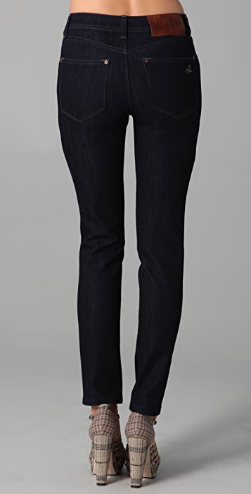 DL1961 Nina Super High Rise Skinny Jeans