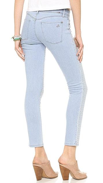 DL1961 Angel Eyelet Skinny Jeans