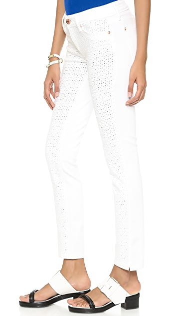 DL1961 Angel Eyelet Jeans