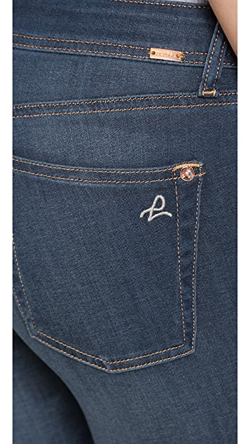 DL1961 Укороченные джинсы Florence Instasculpt