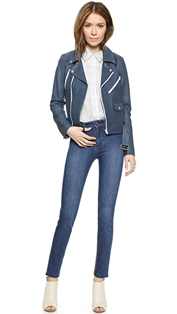 DL1961 Nina High Rise Skinny Jeans