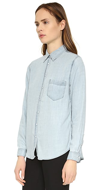 DL1961 The Blue Shirt Shop Mercer & Spring Chambray Shirt