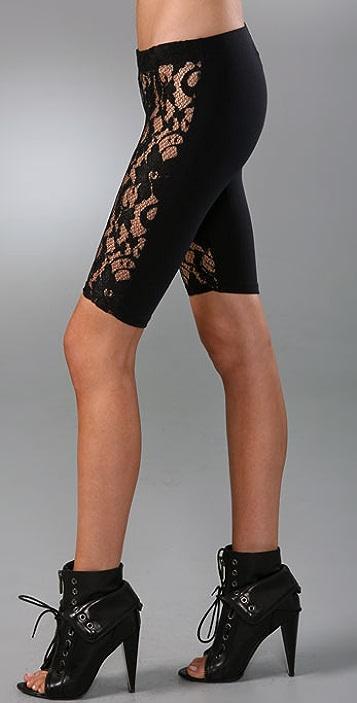 David Lerner Lace Front Shorts