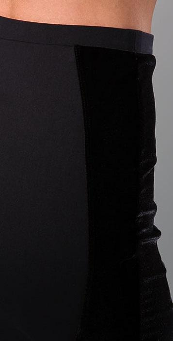 David Lerner Velour Shaper Skirt