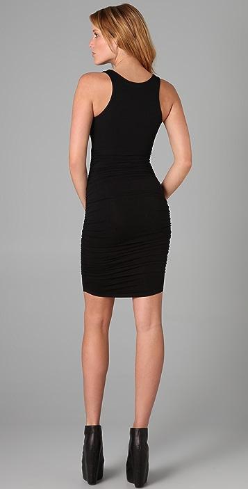 David Lerner Ruched Dress