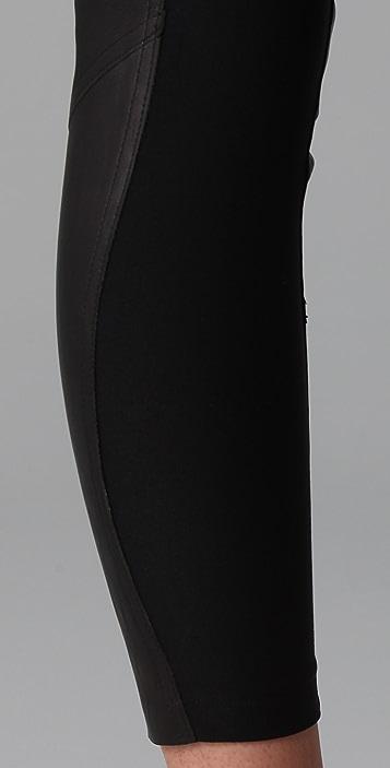 David Lerner Leather Leggings